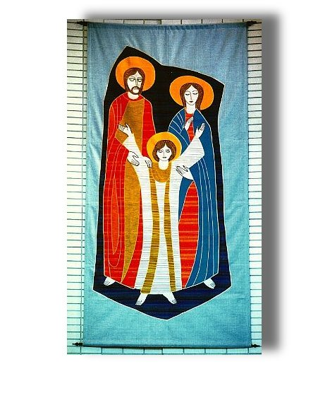 Holy Family tapestry